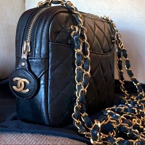 COPY - CHANEL Lambskin Quilted CC Camera Crossbody